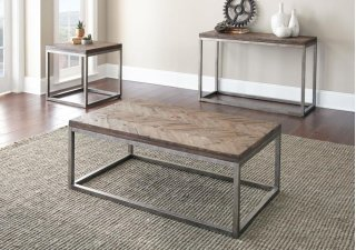 "Lorenza Cocktail Table 48""x28""x18'"