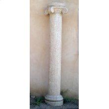 Classic Stone Columns Beige Granite / Round