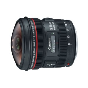 Canon EF 8-15mm f/4L Fisheye USM Ultra-Wide Zoom Lens