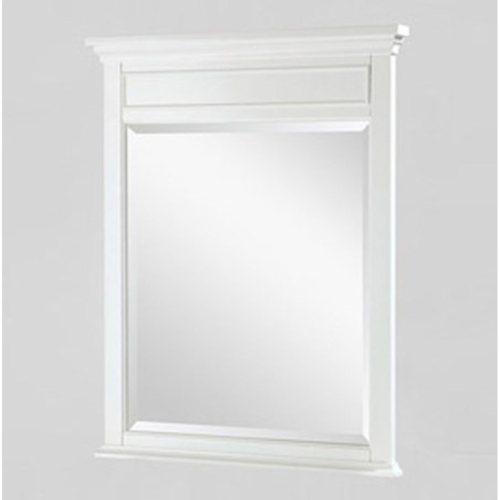 "Framingham 28"" Mirror - Polar White"