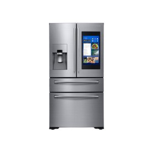 SAMSUNG22 cu. ft. Counter Depth 4-Door French Door with 21.5 in. Connected Touch Screen Family Hub Refrigerator