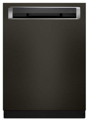 46 DBA Dishwasher with Third Level Rack and PrintShield Finish, Pocket Handle - Black Stainless Product Image
