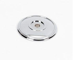 Classic Traditional Rosette A1563 - Polished Chrome