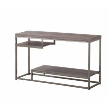 Modern Dark Grey Sofa Table