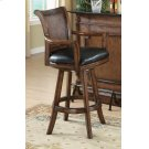Traditional Ornate Brown Bar Stool Product Image