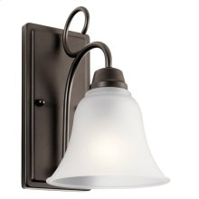 Bixler 1 Light LED Wall Sconce with LED Bulb Olde Bronze®