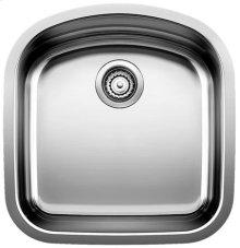Blancowave Plus Single Bowl (bowl Depth 8'') - Satin Polished Finish