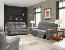 Sofa Dual Pwr Rec With Usb & Pwr Headrest