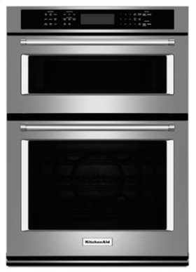 "27"" Combination Wall Oven with Even-Heat True Convection (lower oven) - Stainless Steel"