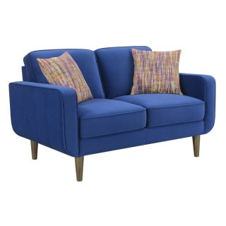 Jax Living Loveseat Blue