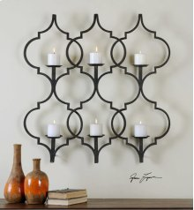 Zakaria Candle Sconce