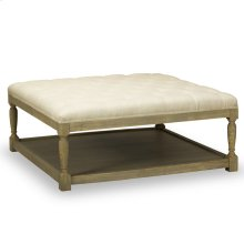 Lucerne Cocktail Ottoman - Tribecca Natural