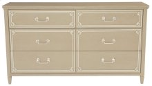 Savoy Place Dresser in Chanterelle with Ivory Accent (371)