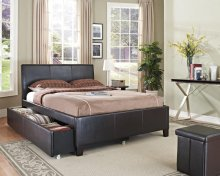 Uph Brown Trundle Headboard, 3/3