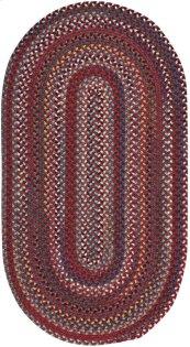 Yorktowne Red Braided Rugs