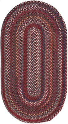 Yorktowne Red Braided Rugs