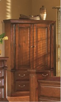 Armoire - Antique Pine Finish Product Image