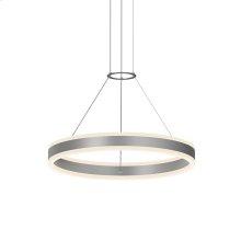 "Double Corona 24"" LED Ring Pendant"