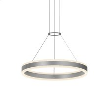 "Double Corona 24"" LED Ring Pendant"