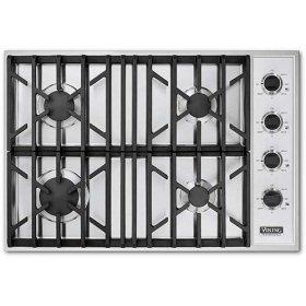 "Black 30"" Gas Cooktop - VGSU (30"" wide cooktops)"