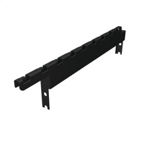 """MM20 Cable Tray Mounting Bracket, 2""""H for MM20 10-1/2"""" channel racks, supports wire tray up to 18""""W"""
