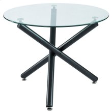 Suzette Round Dining Table in Black