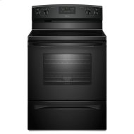 Amana® 30-inch Amana® Electric Range with Versatile Cooktop - Black