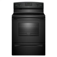 Amana® 30-inch Amana® Electric Range with Versatile Cooktop - Black