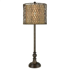 Rattan Shade Buffeet Lamp
