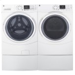 GE ®7.5 Cu. Ft. Capacity Front Load Gas Dryer With Steam