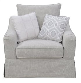Emerald Home Gabrielle Accent Chair Morning Gray U3301-04-09