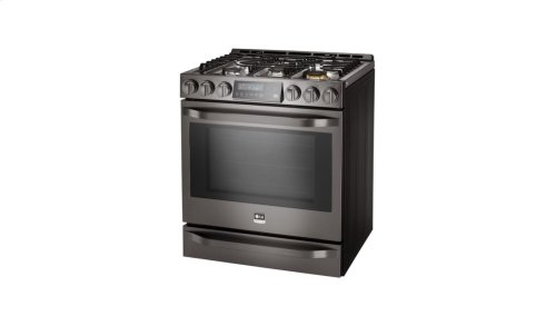 LG STUDIO - 6.3 Gas Slide-In-range with ProBake Convection®