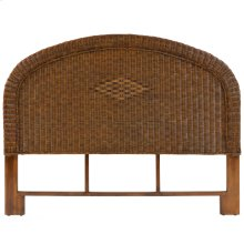 Wicker Full/Queen Headboard Coffee Bean 3707