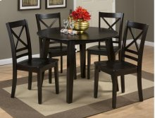 Simplicity Table With 4 X Back Chairs