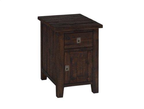 Kona Grove Cabinet Chairside Table