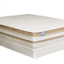 "Queen-Size Zinnia 15"" Gel-infused Euro Pillow Top Mattress"