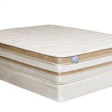 "Queen-Size Zinnia 15"" Gel-infused Euro Pillow Top Mattress"