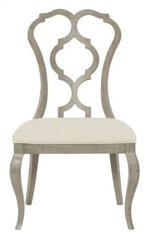 Marquesa Side Chair in Gray Cashmere (359)