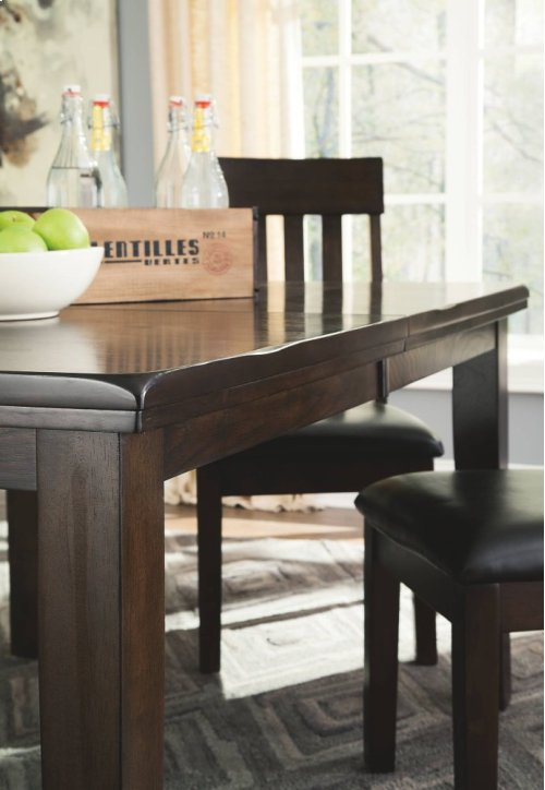 RED HOT BUY- BE HAPPY ! RECT Dining Room EXT Table