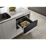 """Jenn-Air Noir 24"""" Under Counter Microwave Oven With Drawer Design"""