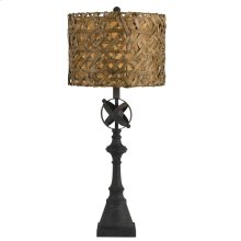 150W Deming Metal Buffet Lamp