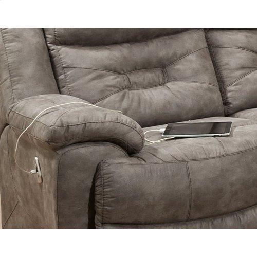 Triple Power Reclining Sofa w/USB
