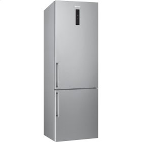 "60 CM (Approx. 24""), Combi Refrigerator/Freezer, Stainless Steel"