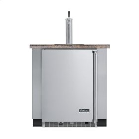 """Stainless Steel 24"""" Built-in Beverage Dispenser - VUBD (Left Hinge Door)"""
