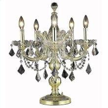 2800 Maria Theresa Collection Table Lamp Gold Finish