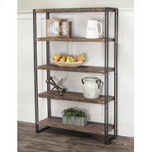 CR-P2089  Reclaimed Oak Bookcase