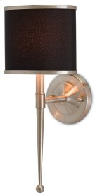 Primo Black Nickel Wall Sconce Product Image