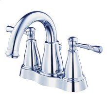 Chrome Eastham Two Handle Centerset Lavatory Faucet