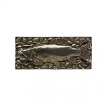 Trout Panel - TT800 Silicon Bronze Dark