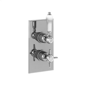 Arcade 1000 Thermo Valve Trim (1 Outlet) - Polished Chrome